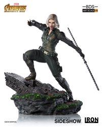 Picture of Black Widow Avengers Infinity War Battle Diorama Statue