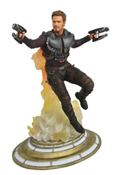 Picture of Star-Lord Maskless Guardians of the Galaxy Marvel Gallery PVC Statue