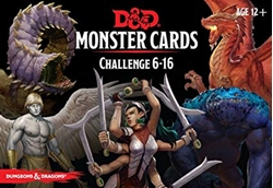 Picture of Dungeons and Dragons RPG Monster Cards Challenge 6-16 Deck