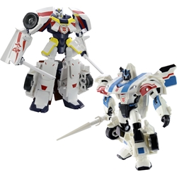 Picture of Takara Tomy Transformers Drift Origin Mode and Jazz Battle Mode Action Figures