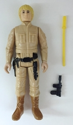 Picture of Star Wars Vintage Luke Skywalker in Bespin Outift Loose Action Figure