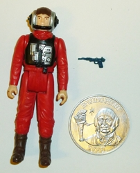 Picture of Star Wars Vintage B-Wing Pilot Loose Action Figure