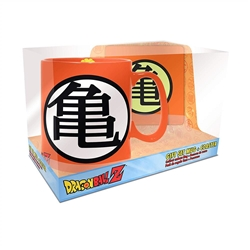 Picture of Dragon Ball Z Goku Symbol Mug and Coaster Gift Set