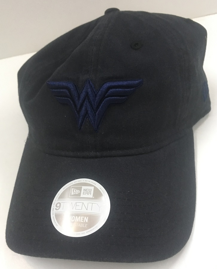8da8a2e853dd7 Bedrock City Comic Company. Wonder Woman 920 New Era Navy Cap
