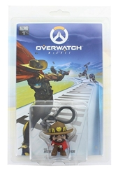 Picture of Overwatch McCree Train Hopper Hanger with Comic Blizzcon Pax East Exclusive