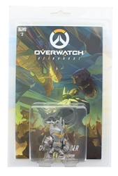 Picture of Overwatch Reinhardt Dragon Slayer Hanger with Comic Blizzcon Pax East Exclusive