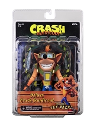 "Picture of Crash Bandicoot Deluxe 7"" Action Figure with Jetpack"