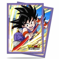 Picture of Dragon Ball Super Son Goku Explosive Spirit Card Sleeves (65)