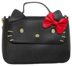 Picture of Hello Kitty Black Crossbody Purse