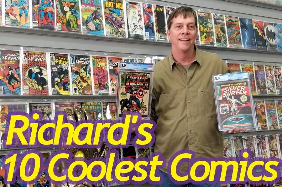 Richard's 10 Coolest Comics