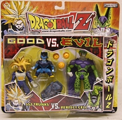 Picture of Jakks Pacific Dragonball Z SS2 Trunks vs Perfect Cell Action Figures