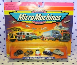 Picture of Micro Machines #14 Micro Planet Cars Collection