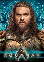 Picture of Aquaman Close-Up Poster Magnet
