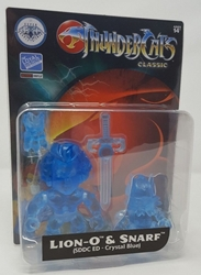 Picture of Loyal Subjects Thundercats Lion-O & Snarf (SDCC Edition Crystal Blue)