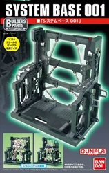 Picture of Gundam System Base 001 Black Builders Parts Model Kit