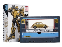 Picture of Transformers Studio Series Deluxe Bumblebee with G1 Tapes