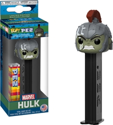 Picture of Pop Marvel PEZ Hulk Thor Ragnarok Candy and Dispenser