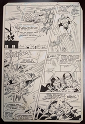 Picture of Jimmy Janes Legion of Super-Heroes #282, Page 9 Original Art