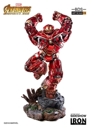 Picture of Iron Man Hulkbuster Avengers Infinity War Battle Diorama Iron Studios Statue
