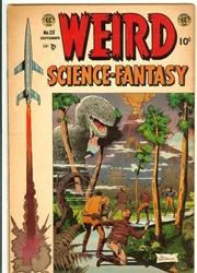 Picture of Weird Science-Fantasy #25