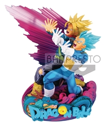 Picture of Dragon Ball Super Vegeta and Trunks Master Stars Diorama Figure The Brush