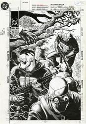 Picture of Brian Bolland Animal Man #42 Cover Original Art
