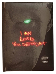 Picture of Harry Potter Lord Voldemort Light Up Notebook