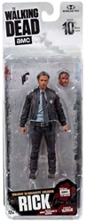Picture of Walking Dead Series 10 Action Figure Rick