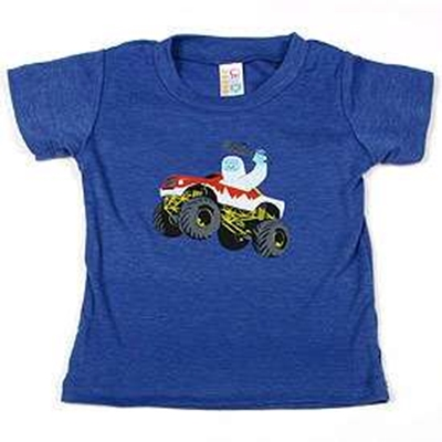 Picture of Gama-Goo Yeti Driving Monster Truck Kids' Tee