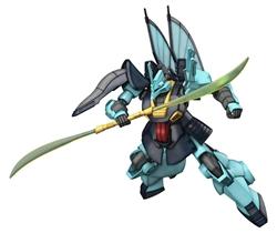 Picture of Zeta Gundam Dijeh HGUC Model Kit