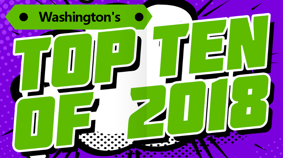 Bedrock Washington's Top 10 of 2018