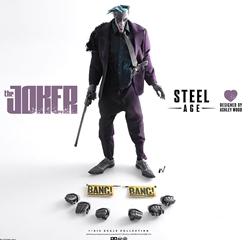 Picture of Joker DC Steel Age Sixth Scale ThreeA Figure