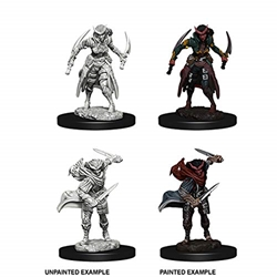 Picture of Dungeons and Dragons Nolzur's Marvelous Tiefling Female Rogue Unpainted Miniature