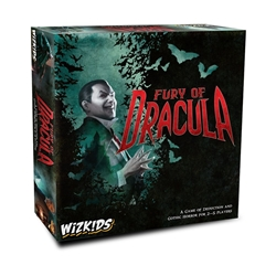 Picture of Fury of Dracula 4th Edition Board Game
