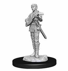 Picture of Dungeons and Dragons Nolzur's Marvelous Half-Elf Female Bard Unpainted Miniatures