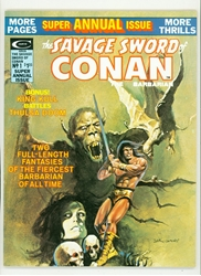 Picture of Savage Sword of Conan Annual #1