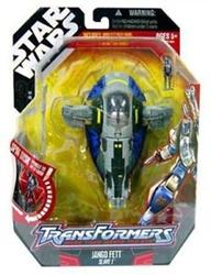 Picture of Hasbro Transformers Star Wars Jango Fett Slave I Action Figure