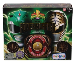 Picture of Power Rangers Legacy Morpher Green White Edition