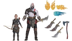"Picture of God of War Kratos and Atreus 7"" Action Figure 2-Pack"