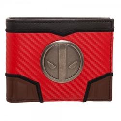 Picture of Deadpool X-Carbon Fiber Bi-Fold Wallet