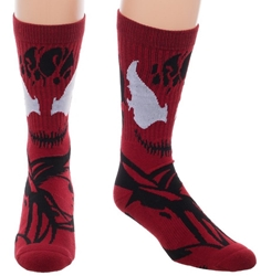 Picture of Marvel Carnage Knit Suit Up Socks