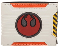 Picture of Star Wars Rebel Chrome Weld Patch Bi-Fold Wallet