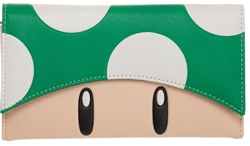 Picture of Super Mario Green Mushroom Flap Wallet