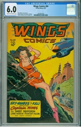 Picture of Wing Comics #84