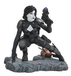 Picture of Domino Marvel Premier Comic Statue