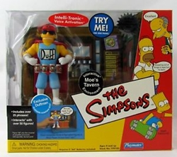 Picture of Simpsons Moe's Tavern with Duffman Exclusive Action Figure Pack