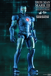 Picture of Iron Man Mark III Stealth Mode Version Sixth Scale Hot Toys Figure