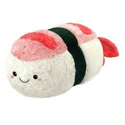 "Picture of Comfort Food Shrimp Sushi Mini Squishable 7"" Plush"