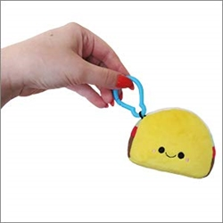 "Picture of Comfort Food Taco Micro Squishable 3"" Plush"