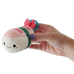 "Picture of Comfort Food Shrimp Sushi Micro Squishable 3"" Plush"